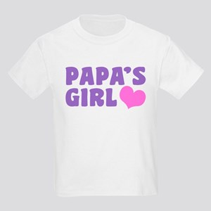 Papa's Girl Kids Light T-Shirt