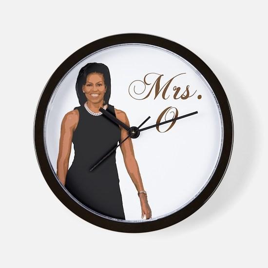 Mrs. Michelle Obama Wall Clock
