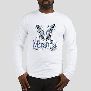 Beautiful Butterfly Miranda Long Sleeve T-Shirt