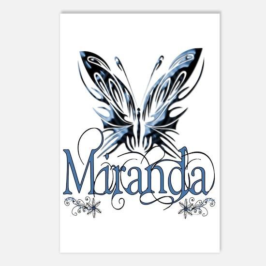 Beautiful Butterfly Miranda Postcards (Package of