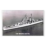 USS HELENA Sticker (Rectangle 50 pk)