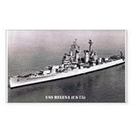USS HELENA Sticker (Rectangle 10 pk)