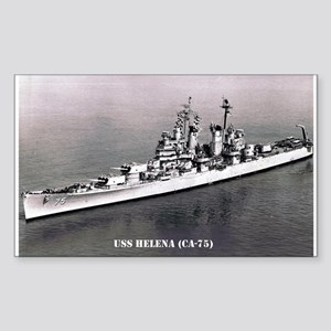USS HELENA Sticker (Rectangle)