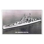 USS HELENA Sticker (Rectangle)