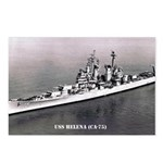 USS HELENA Postcards (Package of 8)