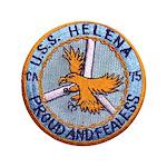 """USS HELENA 3.5"""" Button"""