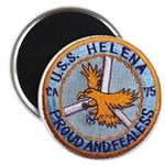 USS HELENA Magnet