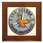 USS HELENA Framed Tile