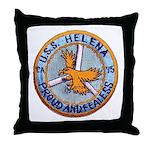 USS HELENA Throw Pillow