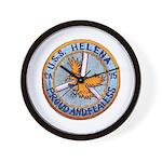 USS HELENA Wall Clock