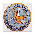 USS HELENA Tile Coaster