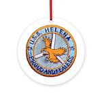 USS HELENA Round Ornament