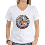 USS HELENA Women's V-Neck T-Shirt
