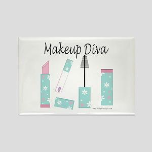 Makeup Diva Rectangle Magnet