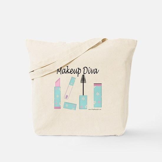 Makeup Diva Tote Bag