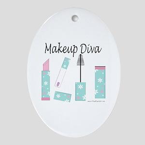 Makeup Diva Oval Ornament