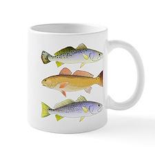 3 West Atlantic Ocean Drum Fishes Mugs