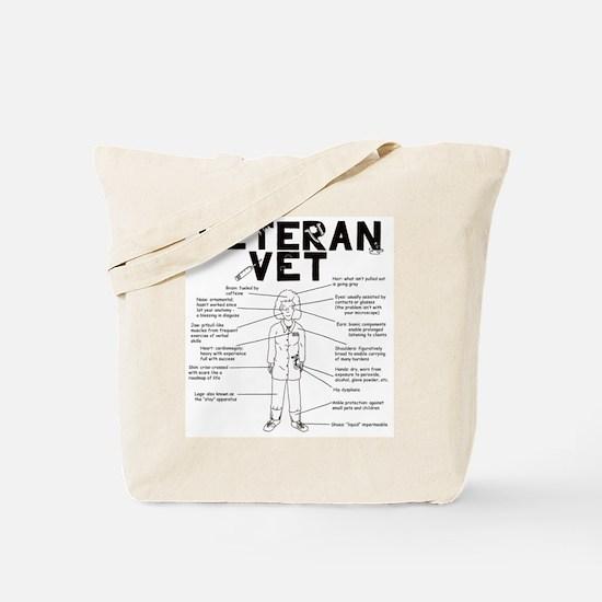 Cute Small animal veterinarian Tote Bag