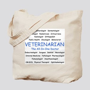 Veterinarian TheAllInOneDoctor Tote Bag