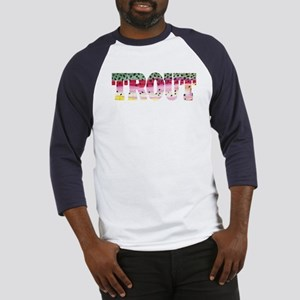 Rainbow TROUT Baseball Jersey