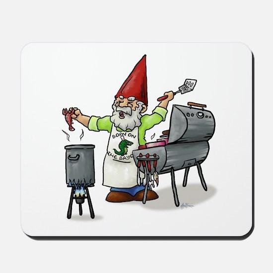 BBQ Gnome Mousepad