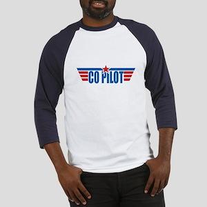Co Pilot Wings Baseball Jersey