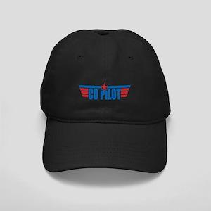 Co Pilot Wings Black Cap