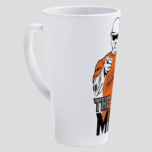 Show Me the Mud 17 oz Latte Mug
