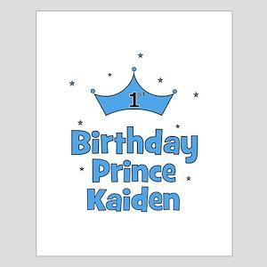 1st Birthday Prince Kaiden! Small Poster