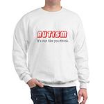 Autism Not Like U Think Sweatshirt