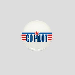 Co Pilot Wings Mini Button