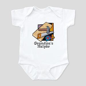 Grandpa's Helper (Carpentry) Infant Bodysuit