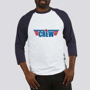 Aviation Crew Wings Baseball Jersey
