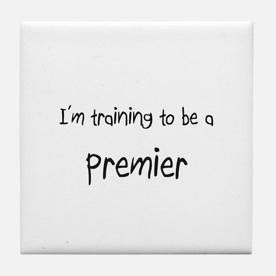 I'm training to be a Premier Tile Coaster