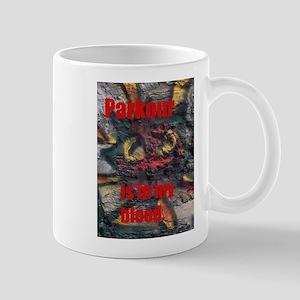parkour shirt Mug