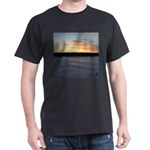 Winter Sunrise 0163 Black T-Shirt