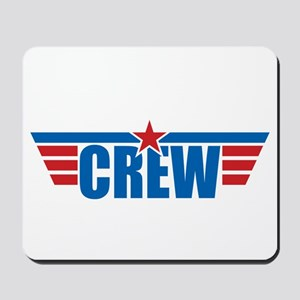 Aviation Crew Wings Mousepad