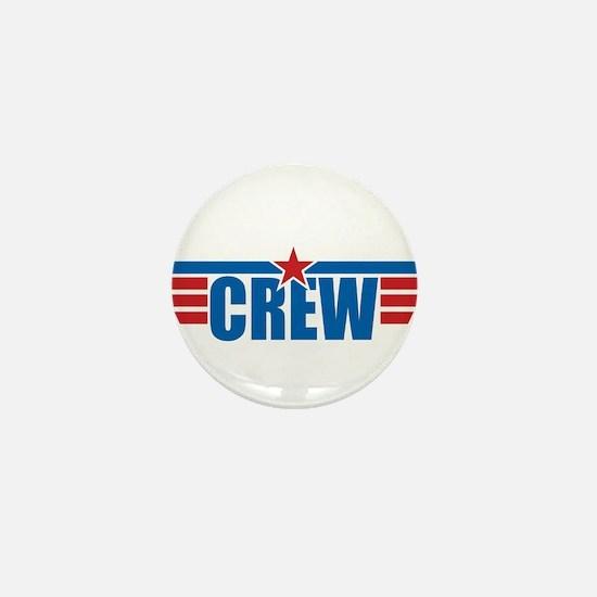 Aviation Crew Wings Mini Button