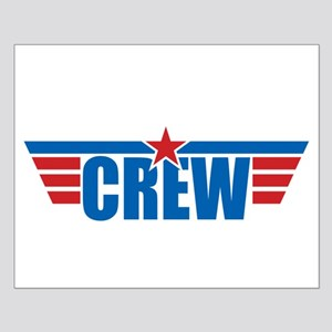 Aviation Crew Wings Small Poster