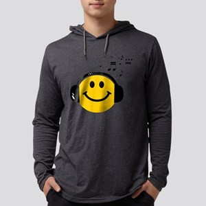 Music Loving Smiley Long Sleeve T-Shirt