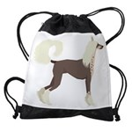 Chinese Crested Drawstring Bag