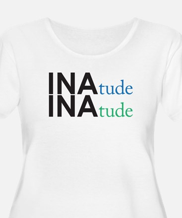 inatude logo for print Plus Size T-Shirt