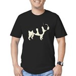 French Bulldog Men's Fitted T-Shirt (dark)