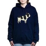 French Bulldog Women's Hooded Sweatshirt
