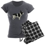 French Bulldog Women's Charcoal Pajamas