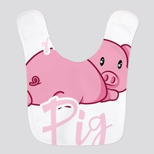 Cute Year of The Pig 2019 Chine Polyester Baby Bib