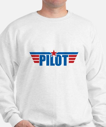 Pilot Aviation Wings Sweatshirt