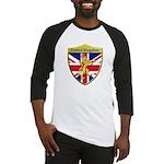 United Kingdom Metallic Shield Baseball Jersey