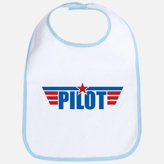 Pilot Aviation Wings Bib