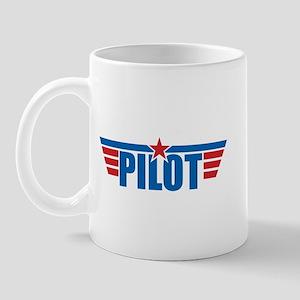 Pilot Aviation Wings Mug